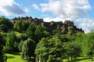 Edinburgh, Edinburghin linna