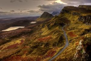 Maisema Skotlannissa